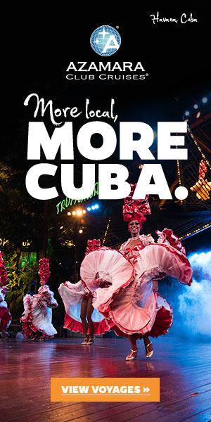 Azamara Cuba Ad