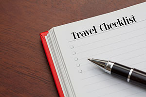 What to do the Week Before You Cruise