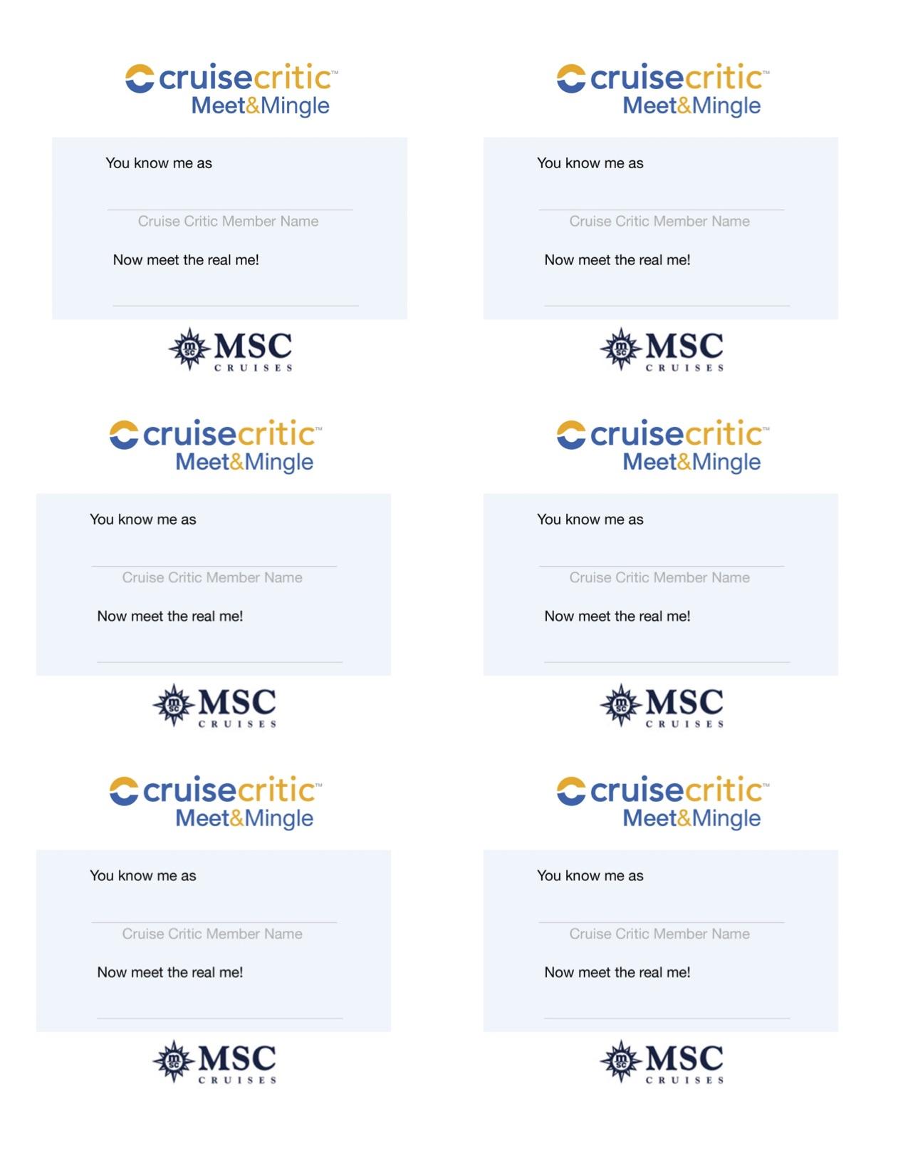 Msc Cruises Meet Amp Mingle Parties Cruise Critic