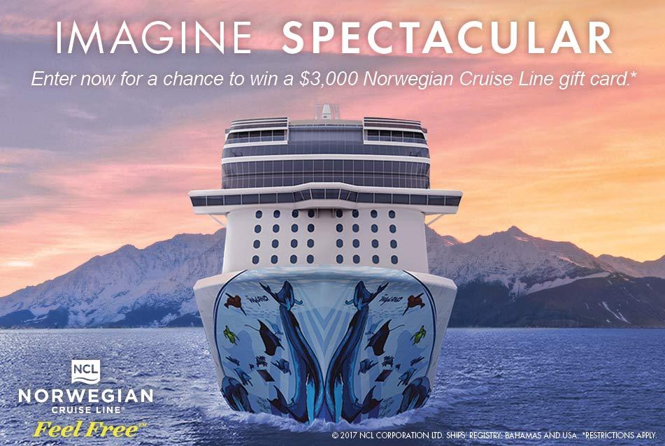 Imagine extraordinary days and legendary nights on Norwegian's newest ship, Norwegian Bliss, cruising Alaska and The Caribbean seasonally beginning Summer ...