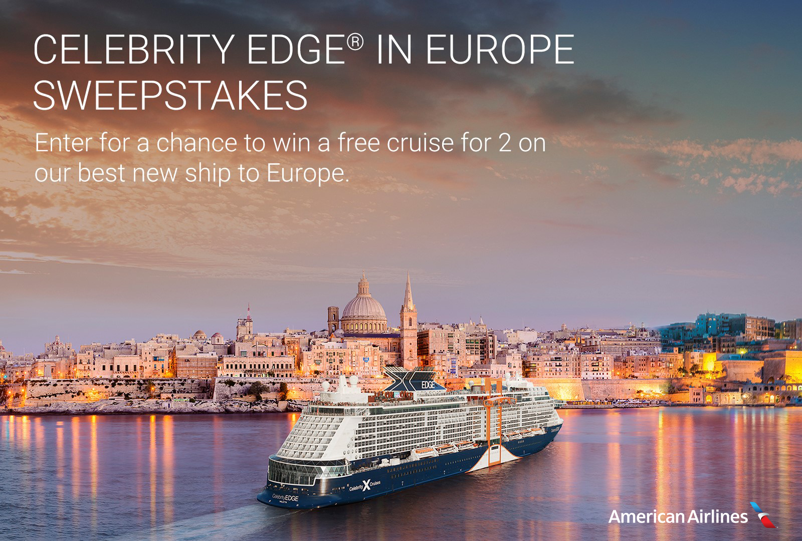 Celebrity Edge In Europe Sweepstakes April 2019 - Cruise Critic