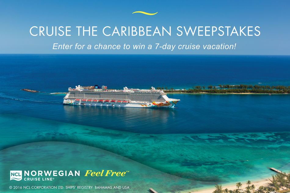 Norwegian cruise sweepstakes