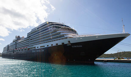 Next week, Holland America ...