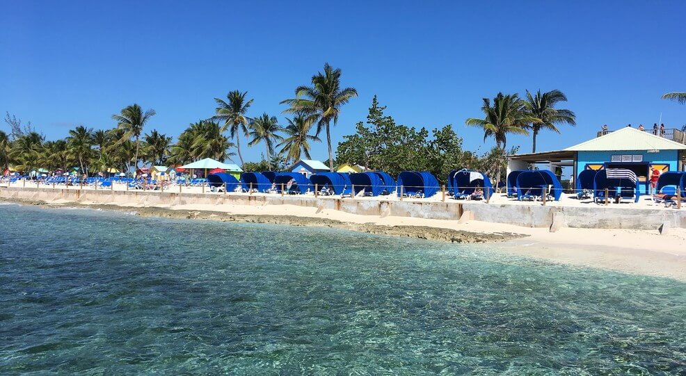 Top Rated Cruise Line Private Island Destinations 2017 Cruisers Choice Destination Awards