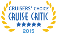 2015 Cruisers' Choice for Cruise Critic