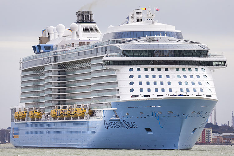 Ovation of the Seas, Royal Caribbean International cruise ship