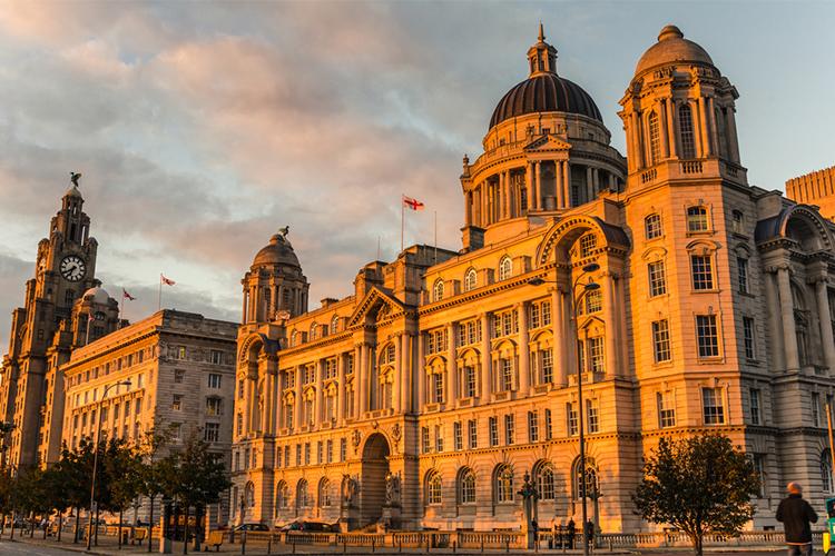 Liverpool cruise port