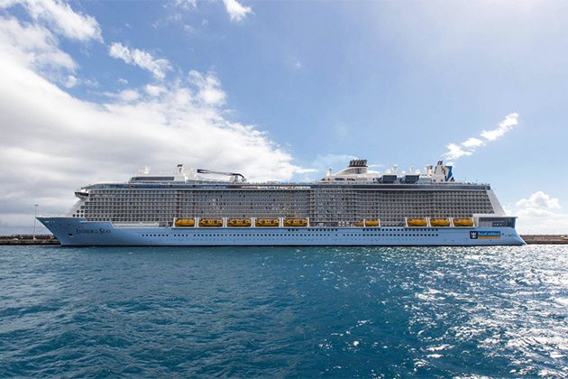 Anthem of the Seas exterior