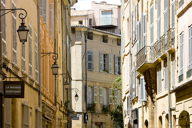 Old buildings of Aix-en-Provence