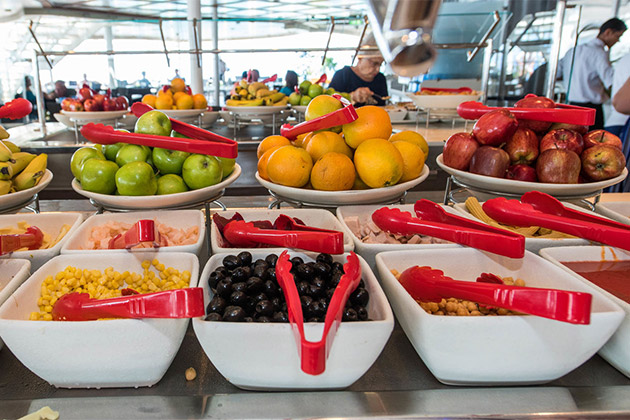 Fruit Station At The Buffet