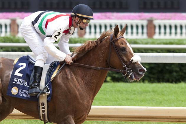 Horse race in Louisville