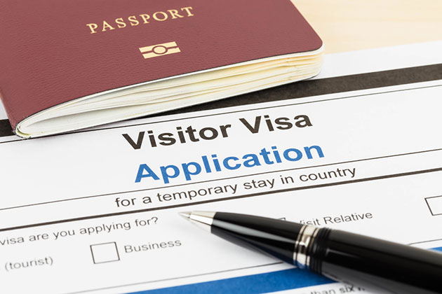 passport and visa application