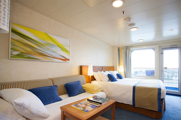 Balcony Cabin. Your Room On A Cruise Ship ...