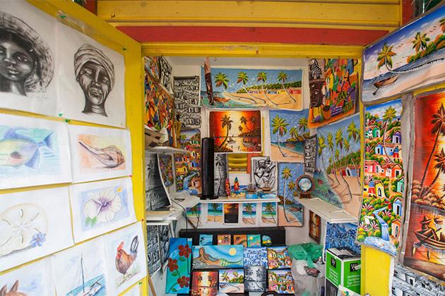 Souvenir shop in Nassau