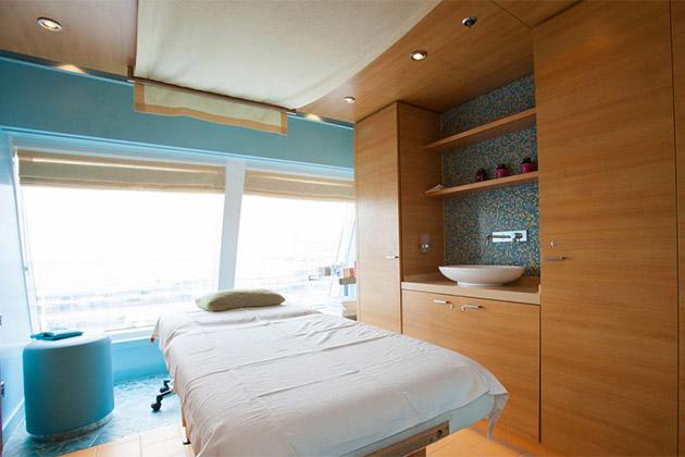 Cloud 9 Spa treatment room