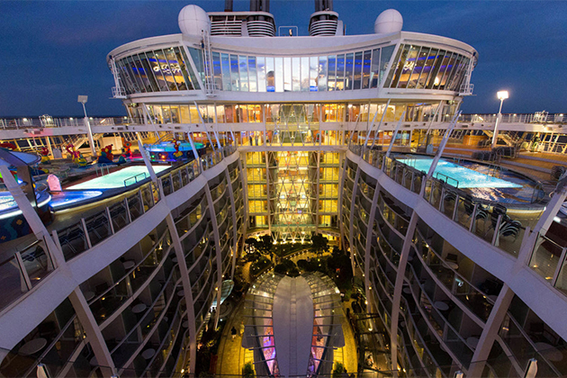 The Pool and Sports Zone on Allure of the Seas