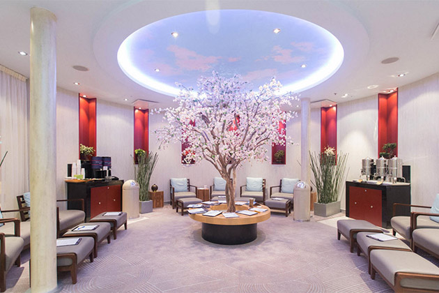 Allure spa reception area