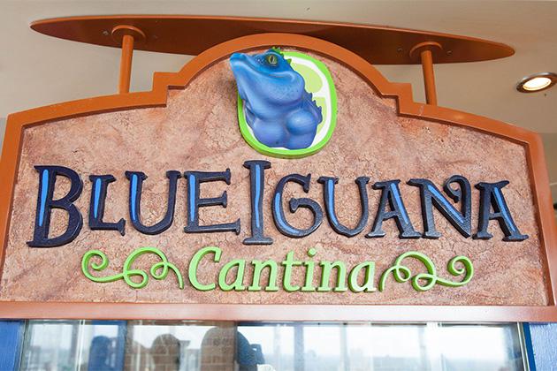 Carnival's Blue Iguana Cantina