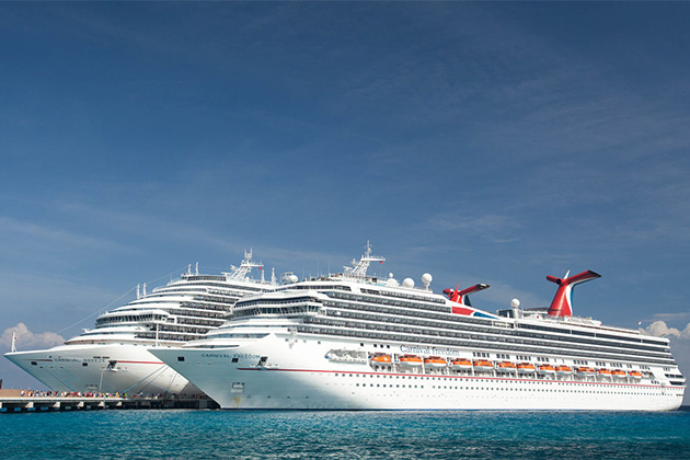 Carnival Freedom and Carnival Breeze