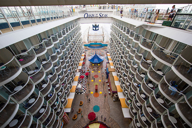 Oasis of the Seas Facts Info on One of the Worlds Biggest Cruise