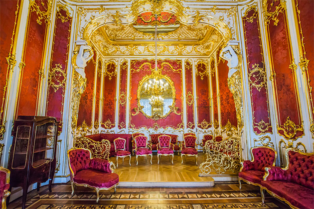 State Hermitage Museum, interior.