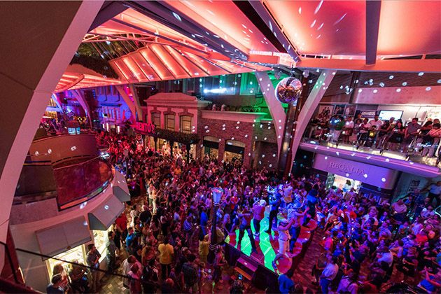 70s Disco Inferno Dance Party on Oasis of the Seas