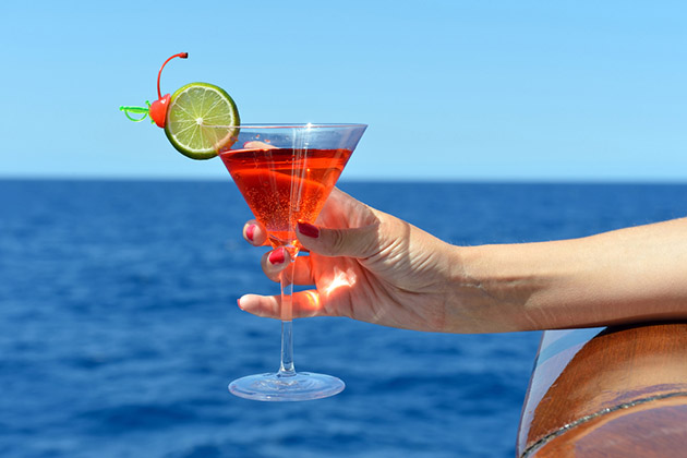 Drink on Cruise