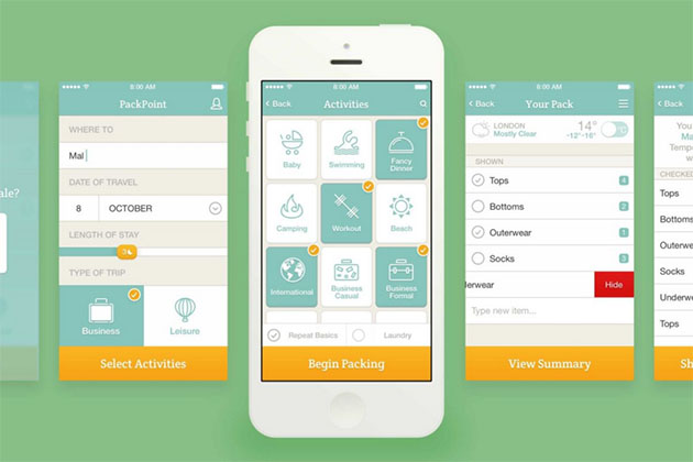 PackPoint Packing App