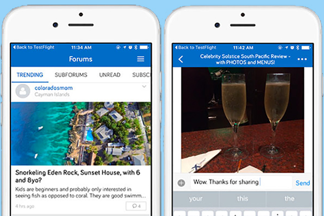 Cruise Critic Forums App