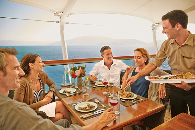 Seabourn Colonade Patio Group