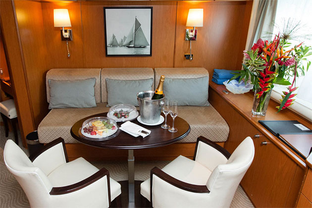 The Owner's Cabin on Wind Spirit