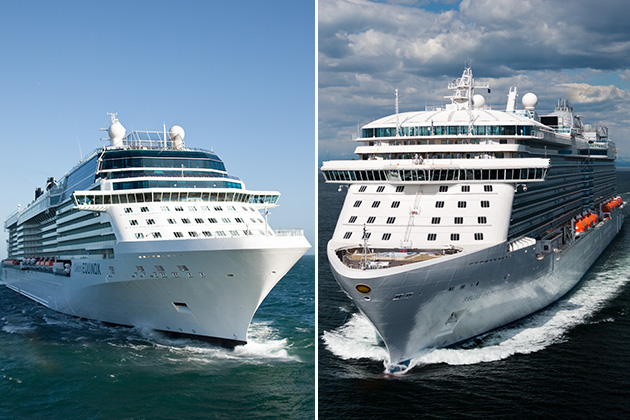 Celebrity Cruises Vs Princess Cruises Cruise Critic - Celebrity eclipse cruise ship itinerary