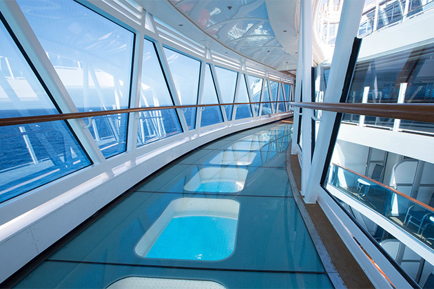 Regal Princess' SeaWalk