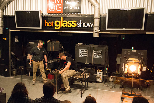 The Lawn Club- The Hot Glass Show on Celebrity Eclipse