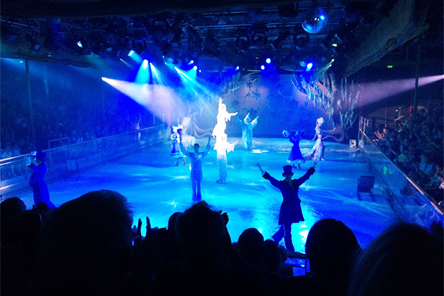 Ice show on Explorer of the Seas