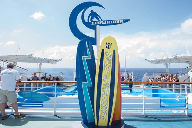 Surfing on a Cruise Ship: We Try the FlowRider on Royal Caribbean