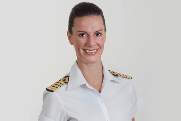 QA Kate McCue The Cruise Industrys First American Female Captain - How do you become a captain of a cruise ship