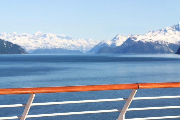Alaska from a cruise ship