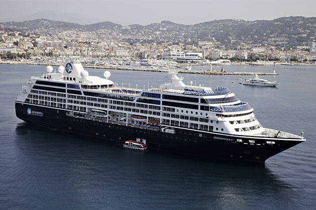 Azamara Quest in Cannes