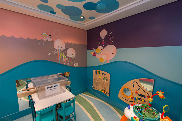 Norwegian Escape Guppies Nursery