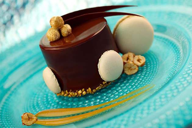Chocolate Praline Timbale