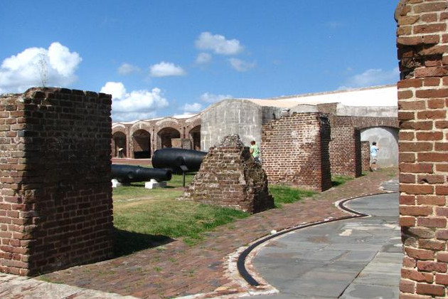 Inside Fort Sumter