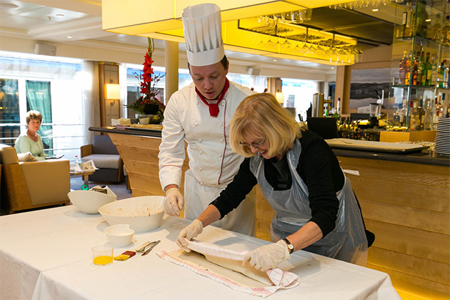 Apple Strudel-Making Class on Viking Gullveig