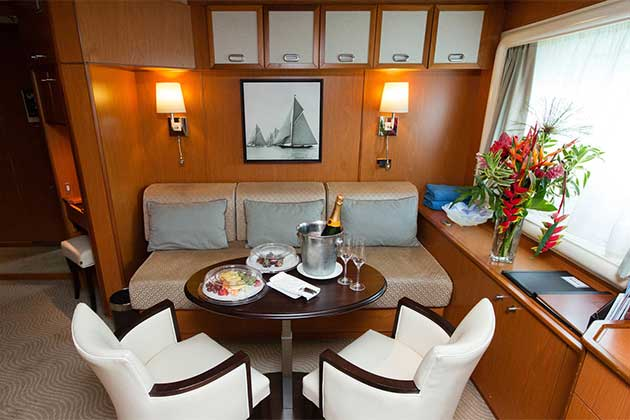 Owner's Suite on Wind Spirit