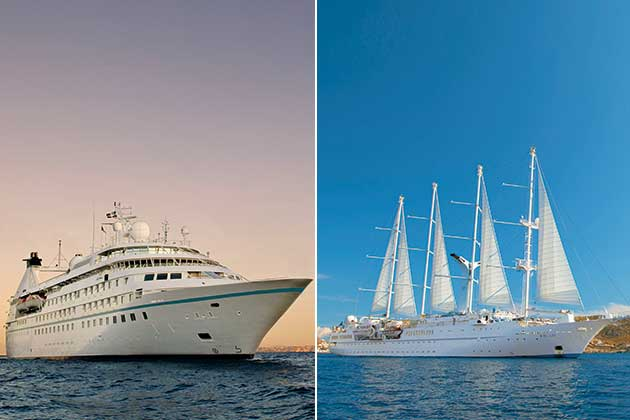 Windstar Yachts vs Windstar Sailing Ships