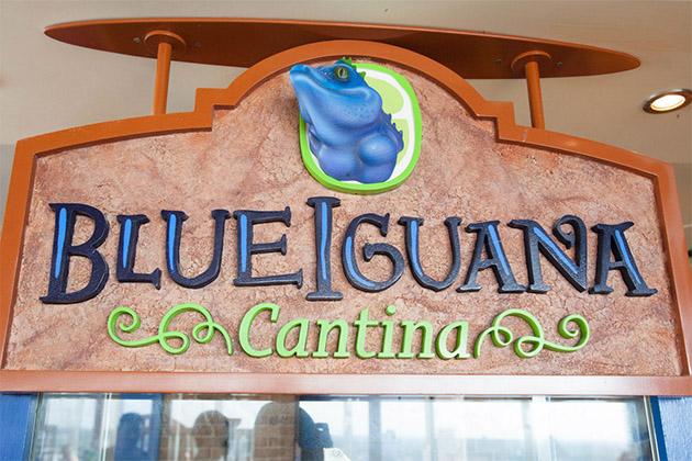 BlueIguana Cantina on Carnival Breeze