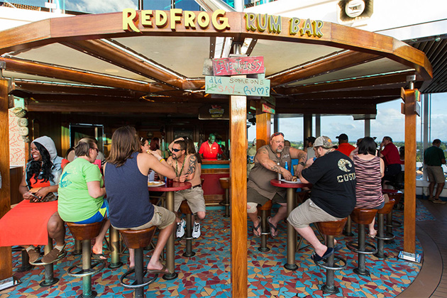 Redfrog Rum Bar on Carnival Dream/