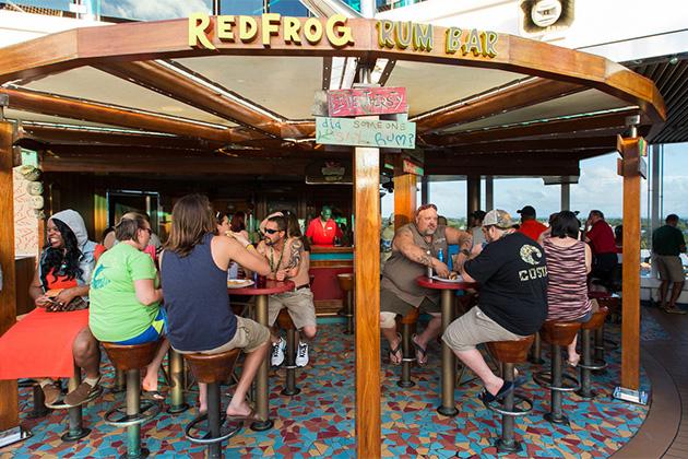 Redfrog Rum Bar on Carnival Dream/