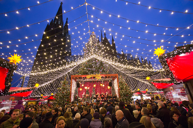 Cologne Christmas Market, Germany.