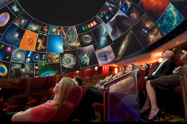 Planetarium on Cunard's Queen Mary 2